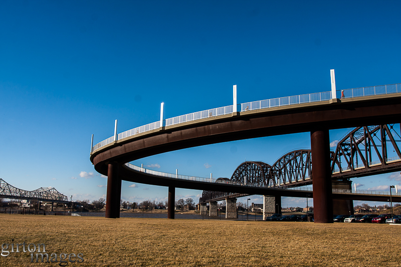 First Look at the Big Four Bridge by Tim Girton