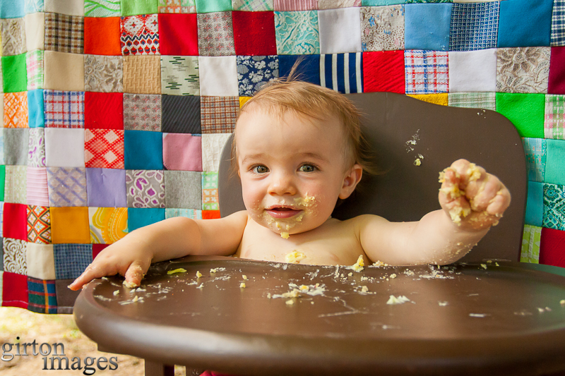 Pierson's First Birthday by Tim Girton
