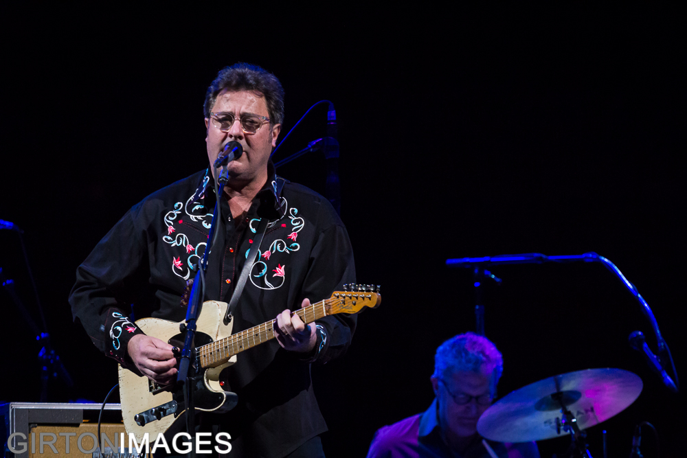 Cowboy Rides Away with George Strait and Vince Gill by Tim Girton