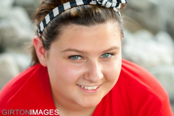 Cassie Vincent senior photos by Tim Girton