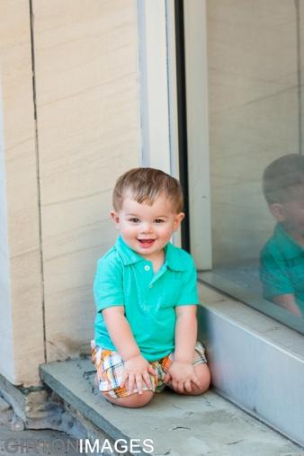 Jaxson's First Birthday photoshoot by Tim Girton