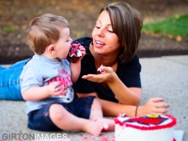 Jaxson's First Birthday photoshoot by Tim Girton