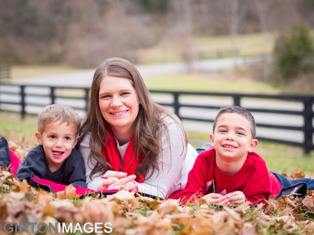 Alyson Pacheco and Family by Tim Girton
