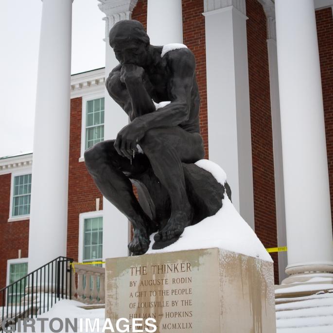 Snow Day in Louisville by Tim Girton