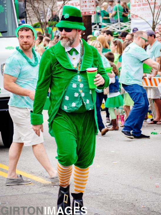 St Patrick's Day Parade by Tim Girton