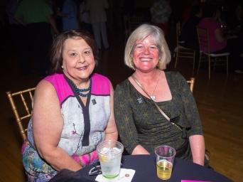 Ann Ellerkamp and Lisa Aug.