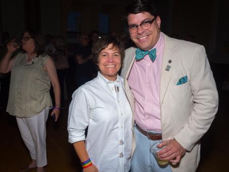 Elizabeth Jent and Tim Holz.