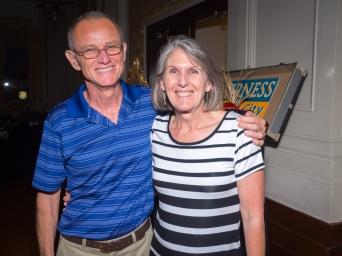 Dennis and Lynn Hartman.