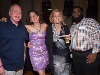 Tom Jones, Angela Hagen, Roe Squire and Phillip Morgan.