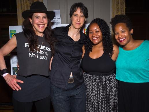 Carla Wallace, Lisa Osanka, Teresa Lajara and Arelene Grullon.