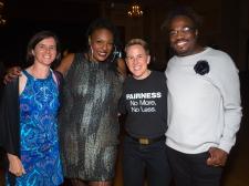 Lisa Gunterman, Dr. Kaila Story, Becky Roehrig and Jaison Gardner.