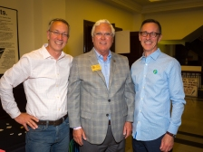Jeff Been, Jefferson County Attorney Mike O'Connell and Eric Graninger.