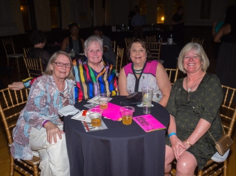 Cynthia and Dottie Dare with Ann Ellerkamp and Lisa Aug.