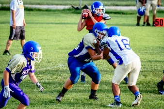 Valley Blue White Scrimmage by Tim Girton