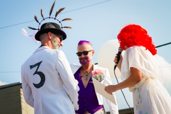 Jon and JD Get Married by Tim Girton