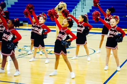 Cheerleader Alanna by Tim Girton