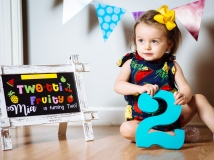 Mia Turns Two by Tim Girton