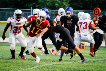 Seneca at Valley Scrimmage by Tim Girton