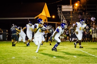 Valley at Holy Cross Football by Tim Girton