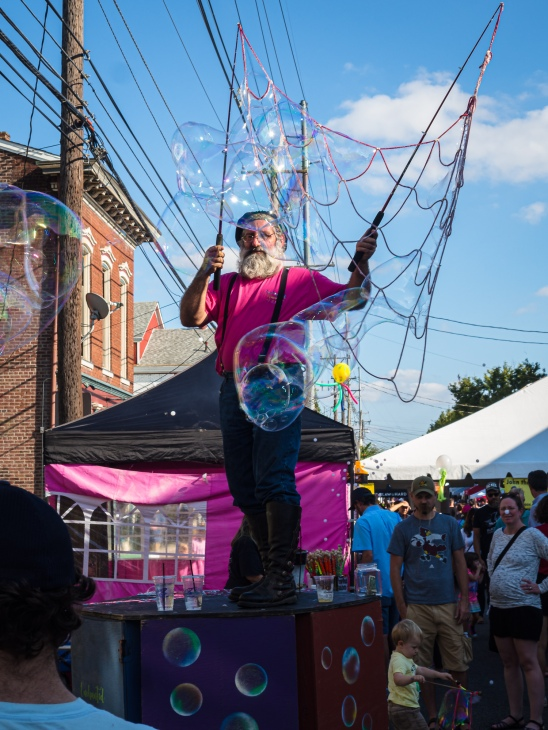 The Bubble Dude